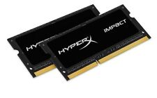 HyperX Impact 16 GB (2 x 8 GB) 1600 MHz di DDR3L CL9 SODIMM NOTEBOOK MEMORY KIT -...