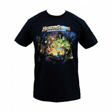 OFFICIAL HEARTHSTONE/BLIZZARD Heroes Black T-Shirt Sizes L/Large.