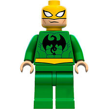 Lego Marvel Super Heroes Minifigure Iron Fist Ironfist 6873  **New** **Mint**