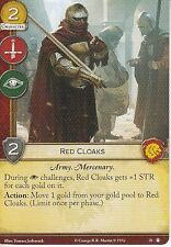 3 x Red Cloaks AGoT LCG 2.0 Game of Thrones No Middle Ground 70