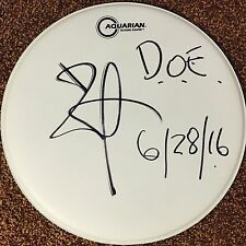 "Bill Ward Black Sabbath Signed Autographed 16"" Drumhead Ozzy Osbourne Tony Iommi"