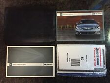 2009 Subaru Legacy Owners Manual Guide Book & Case SEALED