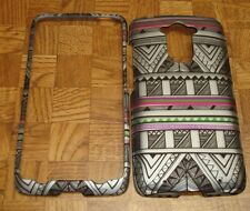 Silver Tribal Case Cover for Motorola Moto Maxx XT1225 Quark Ballistic Nylon