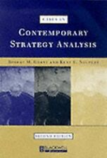 Cases in Contemporary Strategy Analysis by Kent E. Neupert (1999, Paperback,...