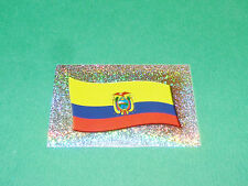 N°143 BADGE ECUSSON ESCUDO ECUADOR EQUATEUR PANINI FOOTBALL COPA AMERICA 2007