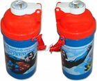 Superman Saving The World Flip Top Flask Bottle Brand New Gift