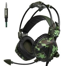 Sades SA931 Stereo 7.1 Surround Gaming Headset Headphone For PC PS4 New XBOX ONE