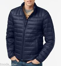 Packable Down Jacket Brand New by Tommy Hilfiger Men's Lightweight Quilted - XL