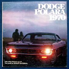 Prospekt brochure 1970 Dodge Polara (USA)