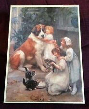Family Favourites Victoriana 500 pc Jigsaw Puzzle NEW SEALED Dog/Kitten/Children