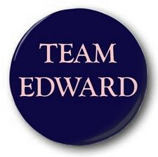 TEAM EDWARD - 1 inch / 25mm Button Badge - Twilight RPattz Eclipse New Moon