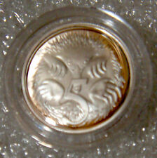 AUSTRALIA: 2004 5 CENTS SILVER PROOF ECHIDNA  / SPINEY ANT EATER EX SET