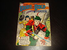 THE BRAVE AND THE BOLD #12 Robin Hood  DC Comics 1957  FN+