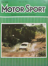 Motor Sport Magazine 05/1978 featuring Amilcar Six, Opel, Renault