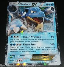 Blastoise EX 17/83 XY Generations Ultra Rare Holo NEAR MINT Pokemon Card