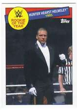 2015 Topps WWE Heritage Rookie of the Year Insert #13 Hunter Hearst Helmsley