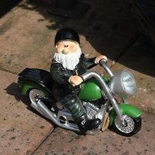 Woodland Wilf Born to be Wild Collectable Garden Gnome with Solar Light