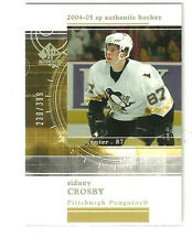 2004/05 SP Authentic Rookie Redemption Sidney Crosby # RR24