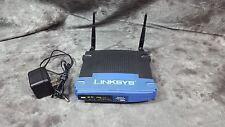 LINKSYS WRT54G Wireless G Router 4 Port 10/100 LAN (WRT54G v6)