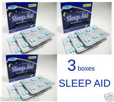 3 x SLEEP AID 108 Caplets Assured Diphenhydramine HCI 25 mg Compare Simply Sleep