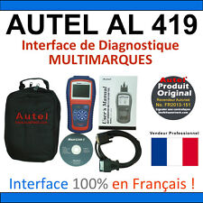 Interface Diagnostique AUTO MultiMarques - AUTEL AutoLink AL419 Valise Diag OBD2