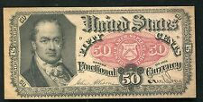 50 FIFTY CENTS FIFTH ISSUE FRACTIONAL CURRENCY NOTE UNCIRCULATED
