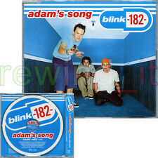 "BLINK-182 ""ADAM'S SONG"" RARE CDsingle PROMO EU 2000 JEWEL CASE"