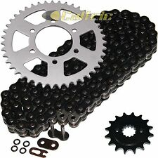 Black O-Ring Drive Chain & Sprockets Kit Fits KAWASAKI ZX750P Ninja ZX7R 96-03