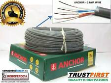 ANCHOR TELEPHONE CABLE - 30 FEET -2 PAIR - 0.44 MM- BEST QUALITY CHEAPEST PRICE