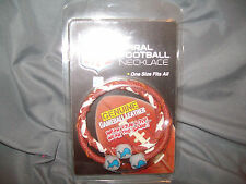 game wear spiral football necklace Detroit Lions NFL  NEW!!