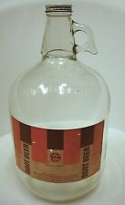 Vintage 1950's A&W Root Beer One 1 Gallon Glass Jug Syrup A and W