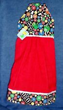 *NEW* M&Ms Candy Hanging Kitchen Hand Towel Made w/ M&M'S® Licensed Fabric #1189