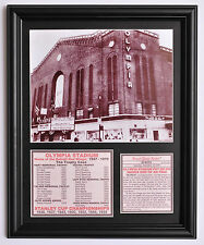 """Detroit Red Wings Hockey  """"The Old Red Barn"""" Olympia Stadium final game tribute"""