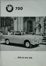 BMW 700 & & 700 Coupe  US Market Sales Brochure