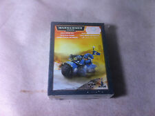 Warhammer 40K Space Marine Bicicleta superstición Games Workshop
