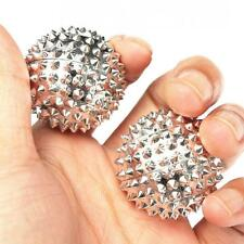 2pcs Hand Body Acupressure Magnetic Spiky Massage Acupuncture Pain Balls