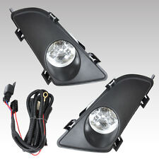 Front Right & Left Fog Lights Lamp Lens w/Wiring Kit for Mazda 6 2003 2004 2005