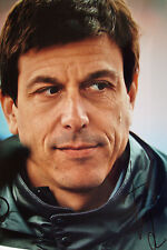 Toto Wolff SIGNED 12x8 F1 Mercedes-AMG Executive Team Director Portrait  4