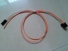 BMW Mercedes Audi Porsche MOST fiber optic optical cable male to pin contacts