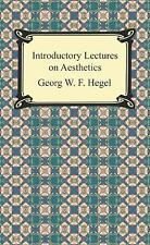 Introductory Lectures on Aesthetics, Hegel, Georg Wilhelm Friedrich, New Books