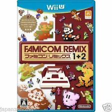 Used Wii U Famicom remix 1 +2  JAPANESE  IMPORT NINTENDO