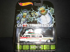 Hot Wheels ECTO 1A Ghostbusters 2 1/64 RARE PACKAGING ts1
