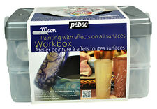 Pebeo Fantasy Moon Special Effect Multi Surface Paint Workbox Set - 10 x 45ml