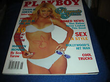 PLAYBOY JUNE 2001 PMOM HEATHER SPYTEK ~ PMOY BRANDI RODERICK COVERV GIRL