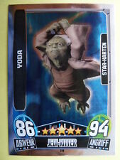 Force Attax Star Wars Serie 3 (2013 rot), Yoda (214), Star-Karten