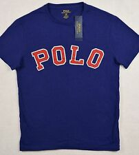 NWT Polo Ralph Lauren Custom Fit SMALL POLO logo TShirt Tee BLUE S