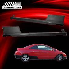 2006-2011 H-Performance Style PU Add-On Side Skirt Lip For Honda Civic 2Dr Coupe