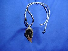 Whippet Greyhound Shell pearls Tiger Eye necklace OOAK by Cindy A. Conter #16