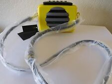 New Marc by Marc Jacobs Out loud Cassette Clutch Crossbody, Handbag, Purse