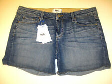 Paige 'Jimmy Jimmy' Boyfriend Jean Short Tigerlily Wash Size 29 New With Tags